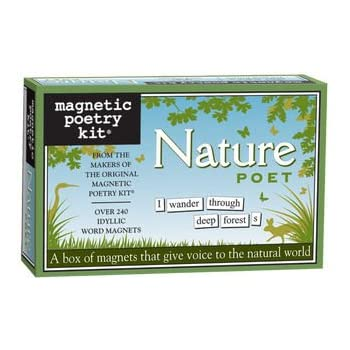 Nature Poet Magnetic Poetry Kit