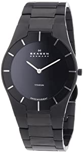 Skagen Men's 585XLTMXB Swiss Titanium Watch