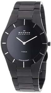 Skagen Men's 585XLTMXB Swiss Titanium Watch