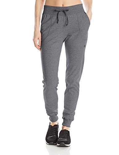 Champion -  Pantaloni sportivi  - Donna Granite Heather X-Large