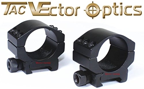 2Pcs Tactical 30Mm Extreme Low Rifle Scope Weaver Mount Rings For Leupold Night Force Bss®