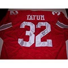 Jack Tatum Signed Jersey - The Assassin W coa - Autographed College Jerseys