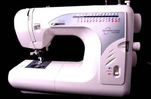 "Sewing Machine - 36""W x 24""H - Peel and Stick Wall Decal by Wallmonkeys"