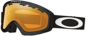 Oakley 02 XS Snow Goggle, Matte Black with Persimmon Lens