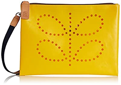 Orla Kiely Punched Stem Tarpaulin Travel Pouch