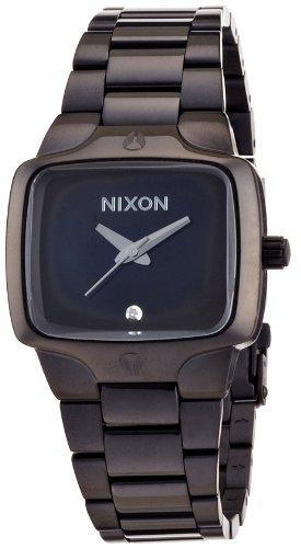 [ニクソン]NIXON 腕時計 THE SMALL PLAYER ALL BLACK NA300001 レディース [正規輸入品]