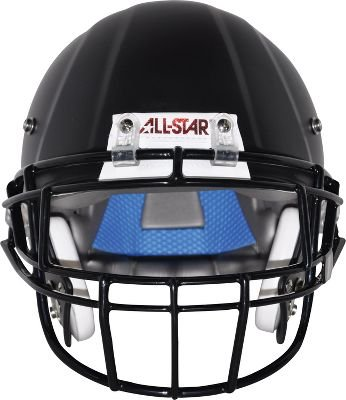 All-Star Youth Catalyst Football Helmet, Black, large