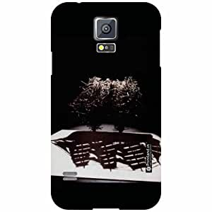 Printland Back Cover For Samsung Galaxy S5 - scary Designer Cases
