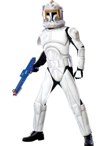 CloneTrooper Cody Costume Star Wars Theatre Costumes SciFi Fantasy Mens Costumes