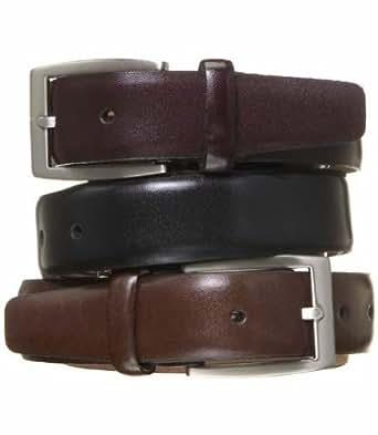 feather edge dress belt burgundy 48 at men s