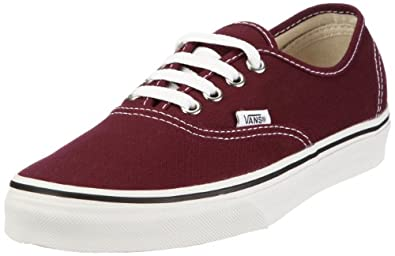 vans authentic vnjv5u7 damen sneaker rot port royale. Black Bedroom Furniture Sets. Home Design Ideas