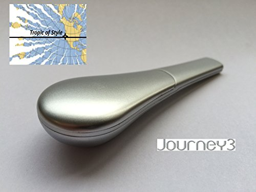 SALE-Journey-3-TM-A-Grade-Pipe-in-Twilight-Silver-with-POCKET-CASE-Free-Fast-Ship