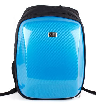 Asus 15.6 inch Notebook Laptop K52F-XQ1 Black with Blue Airport Checkpoint Friendly Reinforced Hard Backpack Caase with Inside Pockets for accessories