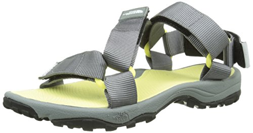 The North FaceW Litewave - Sandali da Atletica Donna, Multicolore (Multicolor (Monument Grey/Chiffon Yellow _ Grq)), 38