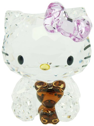Swarovski Hello Kitty Bear Katze mit Teddy Cat 1096879 AP2012