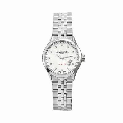 Raymond Weil Women's 2430-ST-97081 Freelancer Stainless Steel Silvertone Dial Watch by Raymond Weil