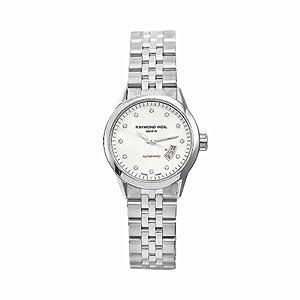 Raymond Weil Women's 2430-ST-97081 Freelancer Stainless Steel Silvertone Dial Watch