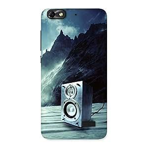 Ajay Enterprises WoSpeaker Of Snow Back Case Cover for Honor 4C