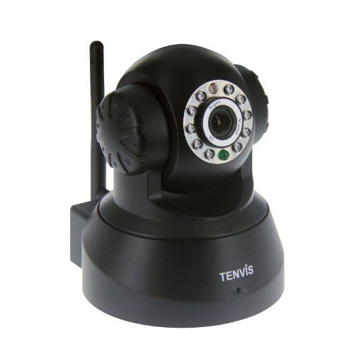 Cheapest Prices! TENVIS JPT3815W Wireless IP Pan/Tilt/ Night Vision Internet Surveillance Camera Bui...