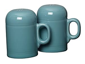 Fiesta Rangetop Salt and Pepper Set, Turquoise