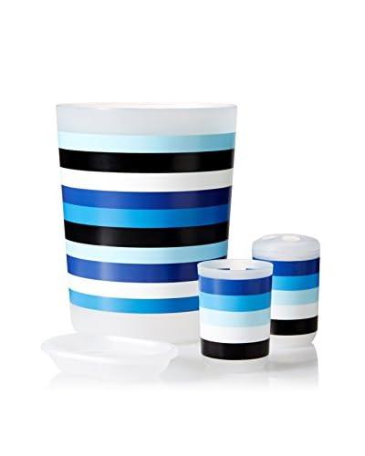 Palace Linens 4-Piece Wastebasket Set, Multi