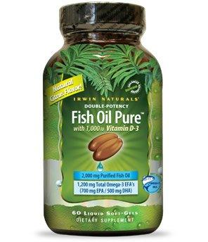 Pure Fish Oil Liquid