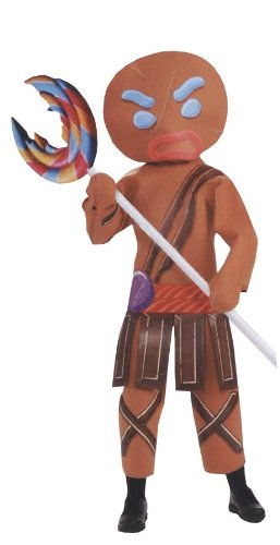Costumes For All Occasions Ru889794 Shrek Gingerbread Warrior Man