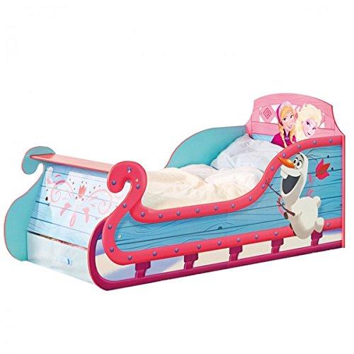 Disney Frozen Sleigh Carriage Toddler Bed Eiskönigin Schlitten Bett Prinzessinnen Kinderbett Aufbewahrung