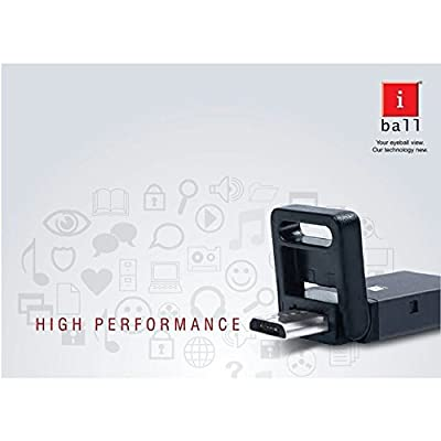 IBall 8gb Mini Hybrid Dual Pendrive