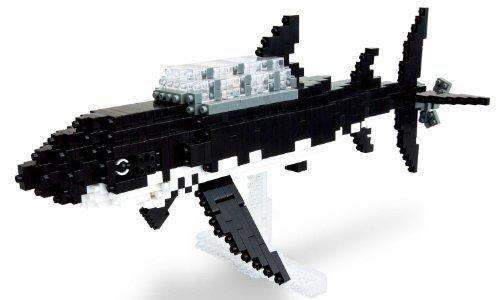 Nanoblock - Tintin - Shark Submarine - 900pcs Set by Kawada