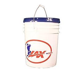Bucket of Balls Lacrosse Balls by Lax.com