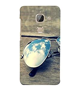 Sunglasses on a Bench 3D Hard Polycarbonate Designer Back Case Cover for LeEco Le 2s :: Letv 2S :: Letv 2