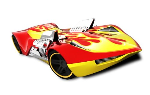 Hot Wheels Twin Mill III Heat Fleet '12 152/247 Red/yellow - 1