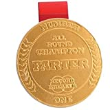 Boxer Gifts Farter Chocolate Medal