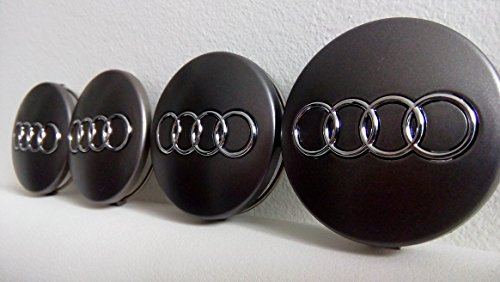 action set of 4 vw alloy wheels centre hub caps cover. Black Bedroom Furniture Sets. Home Design Ideas