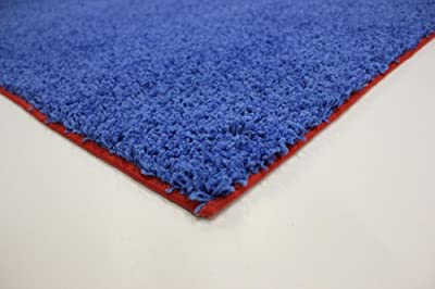 Indoor Area Rug - Superman 37oz - plush textured carpet for residential or commercial use with Premium BOUND Polyester Edges.