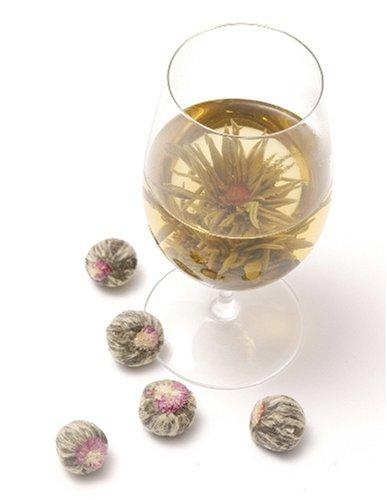 10 Jasmine Blooming Flower Tea