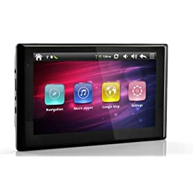Android 2.2 Tablet GPS Navigator with 7 Inch Touchscreen