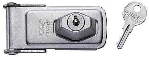 "Buy STANLEY HARDWARE 75-5235 ""LIFESPAN"" KEYLOCK SAFETY HASP 3.5″x1.5″"