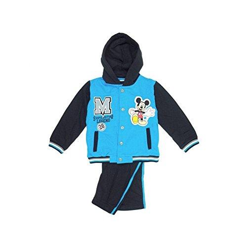 Baby-Jungen Sportanzug, Baby-Jungen Set Sportanzug, Blau, in Größe 98/104