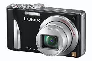 Panasonic LUMIX DMC-ZS15 12.1 MP High Sensitivity MOS Digital Camera with 16x Optical Zoom (Black)