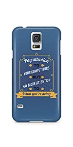 Casenation Pay More Attention Samsung Galaxy S5 Soft Case