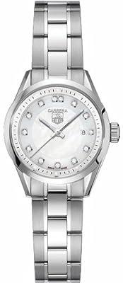 TAG Heuer Women's WV1411.BA0793 Carrera Diamond Watch by TAG Heuer
