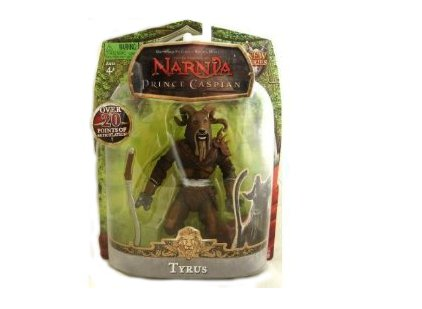Buy Low Price Jakks Pacific The Chronicles of Narnia Prince Caspian 7″ Tyrus Action Figure (B002VFB4R0)