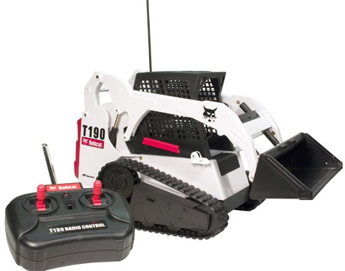 REMOTE CONTROL Rc RADIO CONTROL Bobcat T190 Remote Control Track Loader New TOY CONSTRUCTION VEHICLES