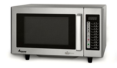 Amana Rms10T Commercial Microwave Oven, 120V, 1000W