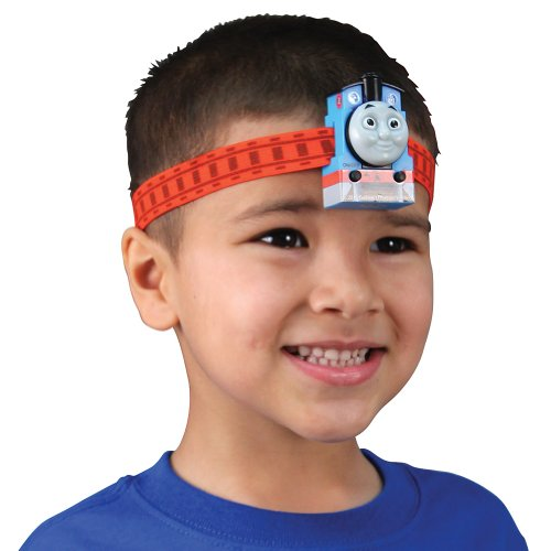 (Set/2) Thomas The Tank Engine Headlamp Set - Led Light Train Flashlight