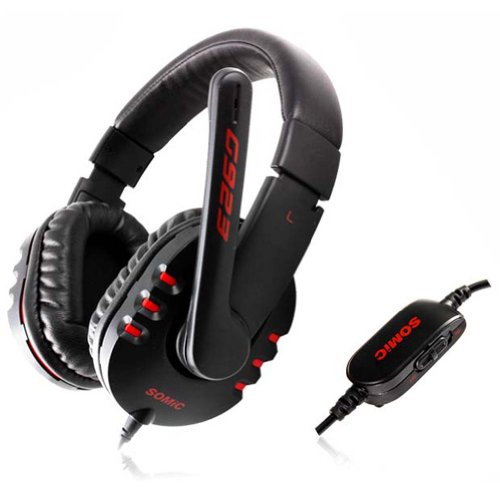 Somic 3.5Mm Stereo Sound Wired Gaming Headset Cool Headphones With Microphone For Computer Games Msn Skype