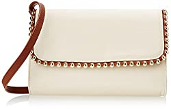 BIG BUDDHA Golda Cross Body Bag, Bone, One Size