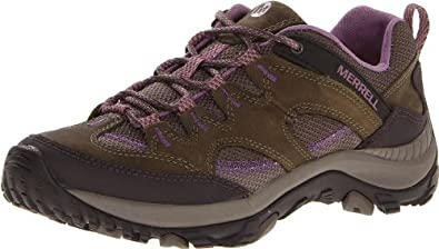 Merrell Women's Salida Hiking Shoe,Brindle,5 M US